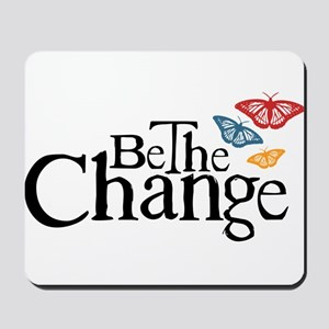 Gandhi - Change - Butterfly Mousepad